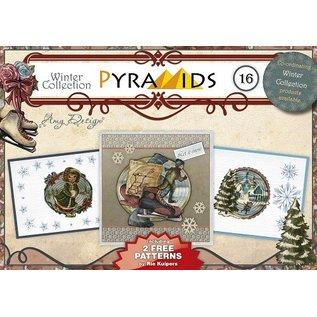 Bücher, Zeitschriften und CD / Magazines knutsel boek, piramide kaarten maken, No.16
