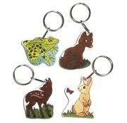 Kinder Bastelsets / Kids Craft Kits Krimpfolie set Wildlife