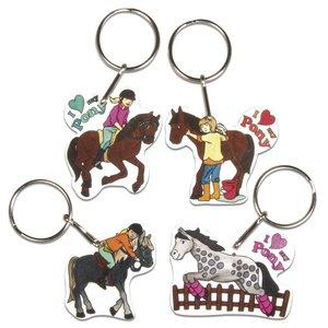 Kinder Bastelsets / Kids Craft Kits Schrumpffolien-Set mein Pony
