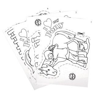Kinder Bastelsets / Kids Craft Kits Shrink film ambientati mio pony