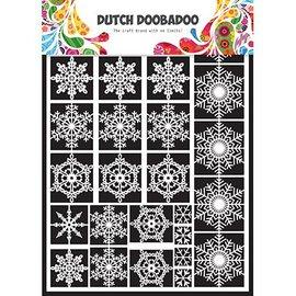 Dutch DooBaDoo Nederlandsk DooBaDoo, snø stjerner