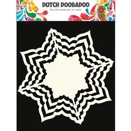 Dutch DooBaDoo Plantilla de arte, 16 x 16 cm