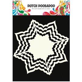 Dutch DooBaDoo Kunstschablone, 16 x16 cm