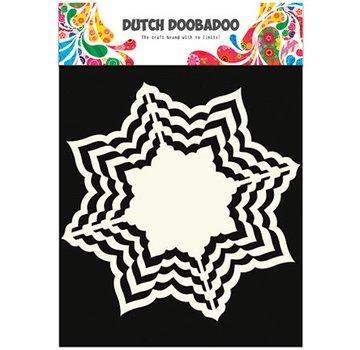 Dutch DooBaDoo Art Template, 16 x16 cm