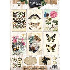 Vintage, Nostalgia und Shabby Shic 4A bow, My Botanic Garden
