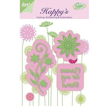 Joy!Crafts / Jeanine´s Art, Hobby Solutions Dies /  punzonatura prick e goffratura stencil e ricamo