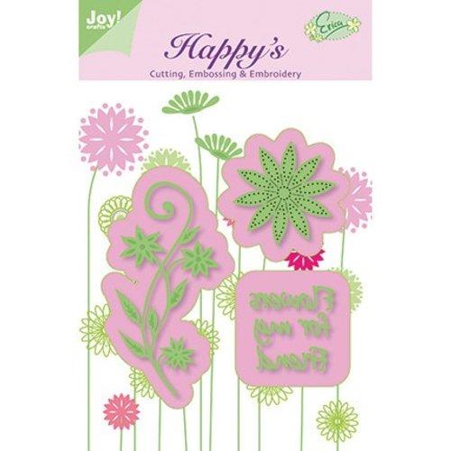 Joy!Crafts / Jeanine´s Art, Hobby Solutions Dies /  coups de poing et piqûre pochoir gaufrage et broderie