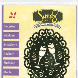 Schablonen, für verschiedene Techniken / Templates Schablonen, Sandy Art, Cupcake