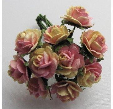 BLUMEN (MINI) UND ACCESOIRES Fleurons Mulberry, 10 Blossom - Copy - Copy