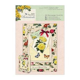 BASTELSETS / CRAFT KITS romantic craft kit for card design