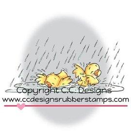 C.C.Designs sello de goma