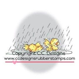 C.C.Designs timbro di gomma