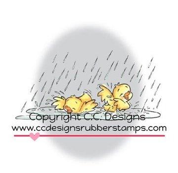 C.C.Designs timbre en caoutchouc