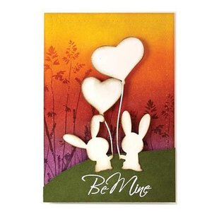 Penny Black Cutting and embossing stencils, Bunny Love