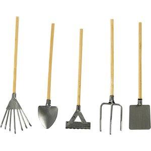 Embellishments / Verzierungen Mini Gartengeräte, ca. 11 cm - nur noch wenige verfügbar!