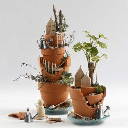 Gartendekoration für Innen und Aussen