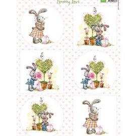 BILDER / PICTURES: Studio Light, Staf Wesenbeek, Willem Haenraets A4, Bilderbogen: Love Bunny