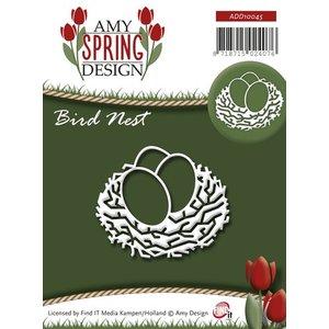 AMY DESIGN AMY DESIGN, Estampage et gaufrage au pochoir, nid d'oiseau