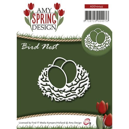 AMY DESIGN AMY DESIGN, Stamping and embossing stencil, bird's nest