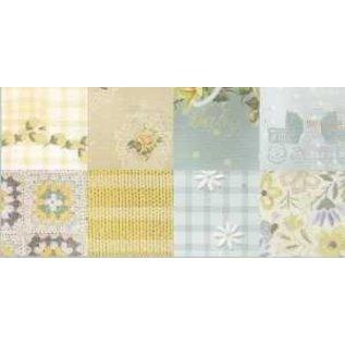 Karten und Scrapbooking Papier, Papier blöcke Pretty Papers, A5, Romantic Nursery, 4x 8 motifs