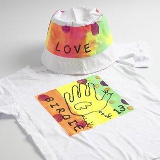 BASTELZUBEHÖR, WERKZEUG UND AUFBEWAHRUNG A-neon gekleurde zomer outfit: hoogwaardige textiel kleur, op basis van water, productieve