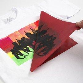 Schablonen, für verschiedene Techniken / Templates Siebdruckschablone, Blatt 20x22 cm, 1 Blatt