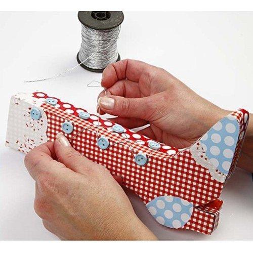 Objekten zum Dekorieren / objects for decorating Kit de Craft: 1 jeu de matériaux rétro bottes boîte