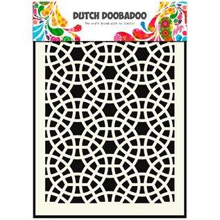Schablonen, für verschiedene Techniken / Templates Pronty, nederlandsk Maskeringstype, A5, Mosaic
