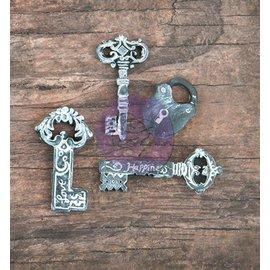 Prima Marketing und Petaloo 3 Resin nøgle og en lås