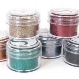 BASTELZUBEHÖR, WERKZEUG UND AUFBEWAHRUNG SPECIAL OFFER, Glitter Powder Dark Colors