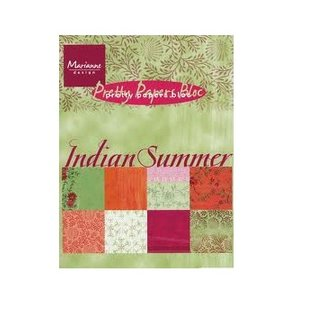 Marianne Design Pretty Papers, A5 , Indian Summer, 32 Blatt, 4 x 8 Motive