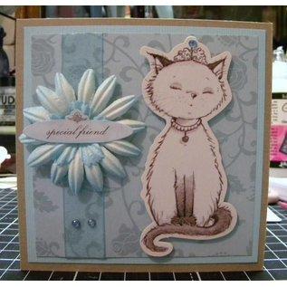 "Karten und Scrapbooking Papier, Papier blöcke Paper block ""Pampered Pets"""