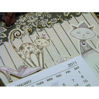 "Karten und Scrapbooking Papier, Papier blöcke Papierblock ""Pampered Pets"""