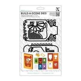 Docrafts / X-Cut Taglio e modello goffratura per una scatola di carta Ombra