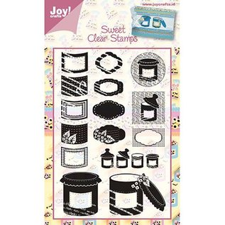 """Joy!Crafts / Jeanine´s Art, Hobby Solutions Dies /  Clear stamps, """"sweets"""" candy"""