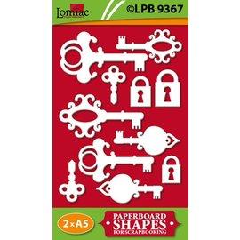 Embellishments / Verzierungen Truciolato, chiavi e serrature