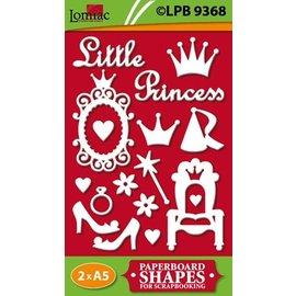 Embellishments / Verzierungen Sponplater, Litle Princess