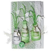 Joy!Crafts / Jeanine´s Art, Hobby Solutions Dies /  Joy Crafts, flowers 3pcs / 44x79 / 40x69 / 49x93mm