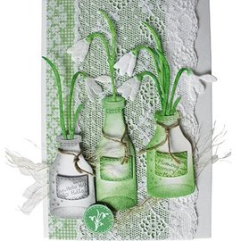 Joy!Crafts / Jeanine´s Art, Hobby Solutions Dies /  Gioia artigianato, fiori 3pcs / 44x79 / 40x69 / 49x93mm
