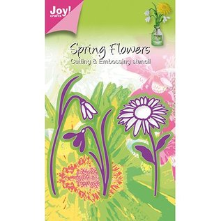 Joy!Crafts / Jeanine´s Art, Hobby Solutions Dies /  Joy Crafts, bloemen 3pcs / 44x79 / 40x69 / 49x93mm