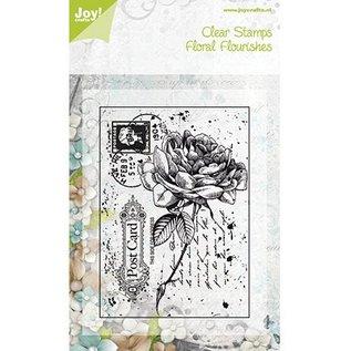 Joy!Crafts / Jeanine´s Art, Hobby Solutions Dies /  Transparante stempels, steeg op een ansichtkaart