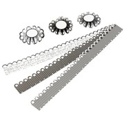 Komplett Sets / Kits Craft Kit: material set for 6 pcs rosettes, D: 8 cm, 160 g - Copy