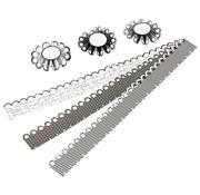 Komplett Sets / Kits Craft Kit: materiale sæt til 6 stk rosetter, D: 8 cm, 160 g - Kopi