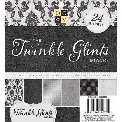 DCWV und Sugar Plum DCWV, Twinkle Glints Stack