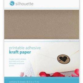 Silhouette NUEVA aquí en la tienda: papel kraft imprimible para Silhouette Cameo