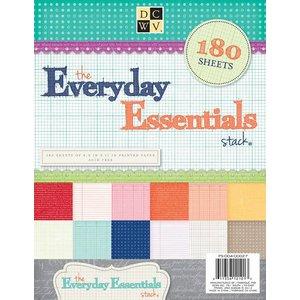 DCWV und Sugar Plum 180 Bögen! DCWV, Everyday Essentials Paper Stack