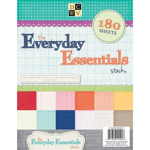 DCWV und Sugar Plum 180 sheets! DCWV, Everyday Essentials Paper Stack