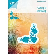 Joy!Crafts / Jeanine´s Art, Hobby Solutions Dies /  Punch - og prægning skabelon