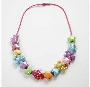 Kinder Bastelsets / Kids Craft Kits Bastelset: 1 børn halskæde