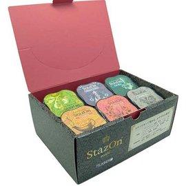 FARBE / STEMPELKISSEN 6 StazOn tampon encreur dans des tons clairs couleur !!
